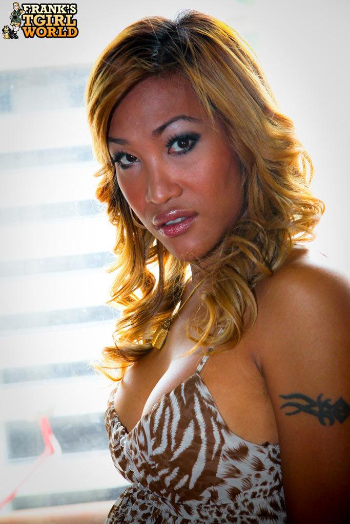 Beautiful T-Girl Artistic Nudes
