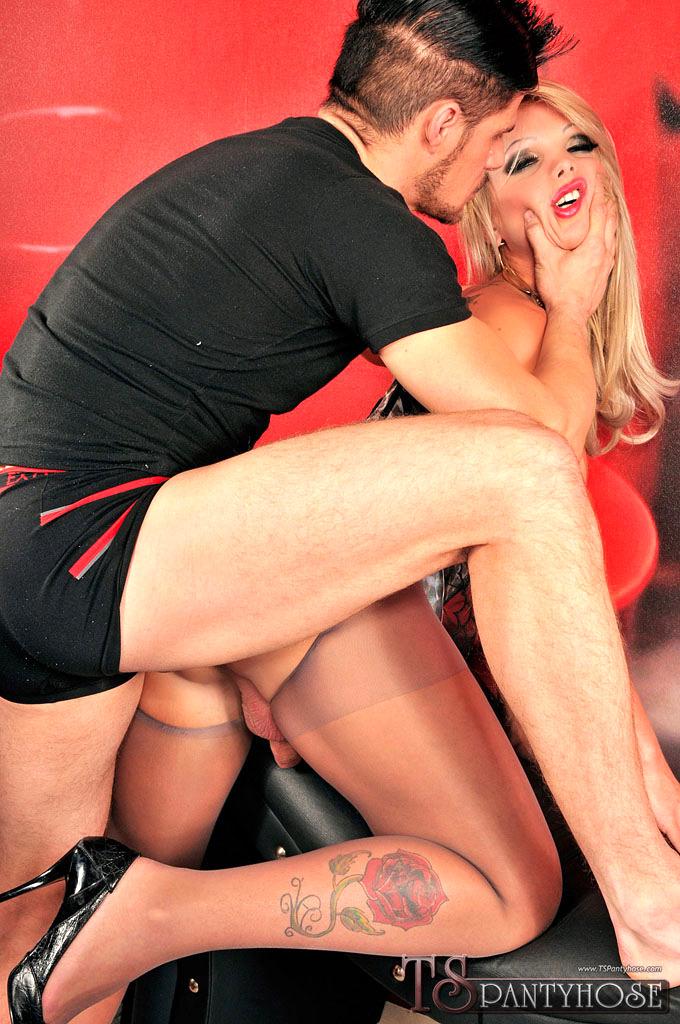 Carla Novaes Gets Ruined In Pantyhose