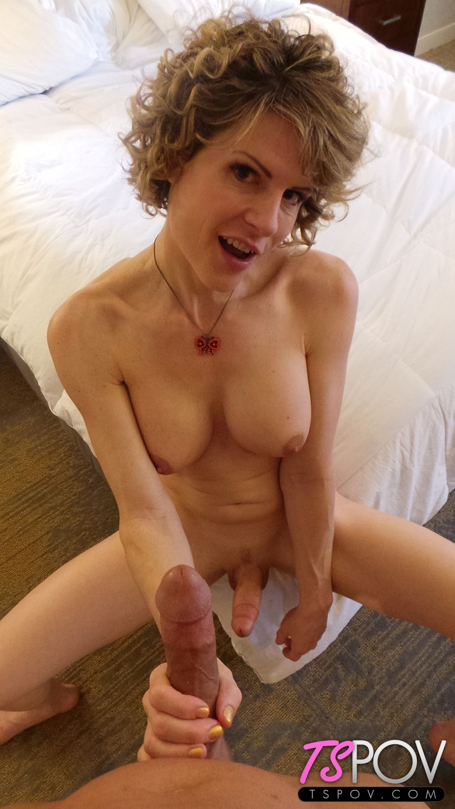 Delia Delions Is A Starved TS That Really Wants The Dick. Watc