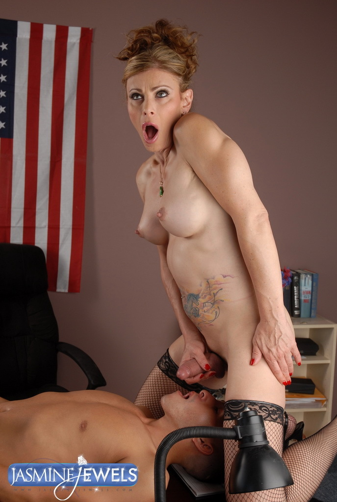 Hungry Transsexual Riding A Dick