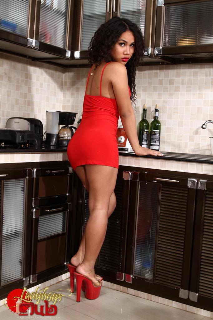 Innocent Jasmine Strips In The Kitchen