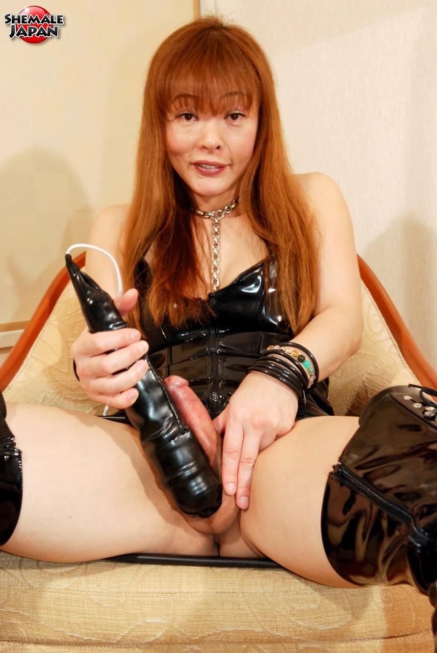 Japanese Transexual Tsugumi Is A True Freak. She Is A Sex Addic
