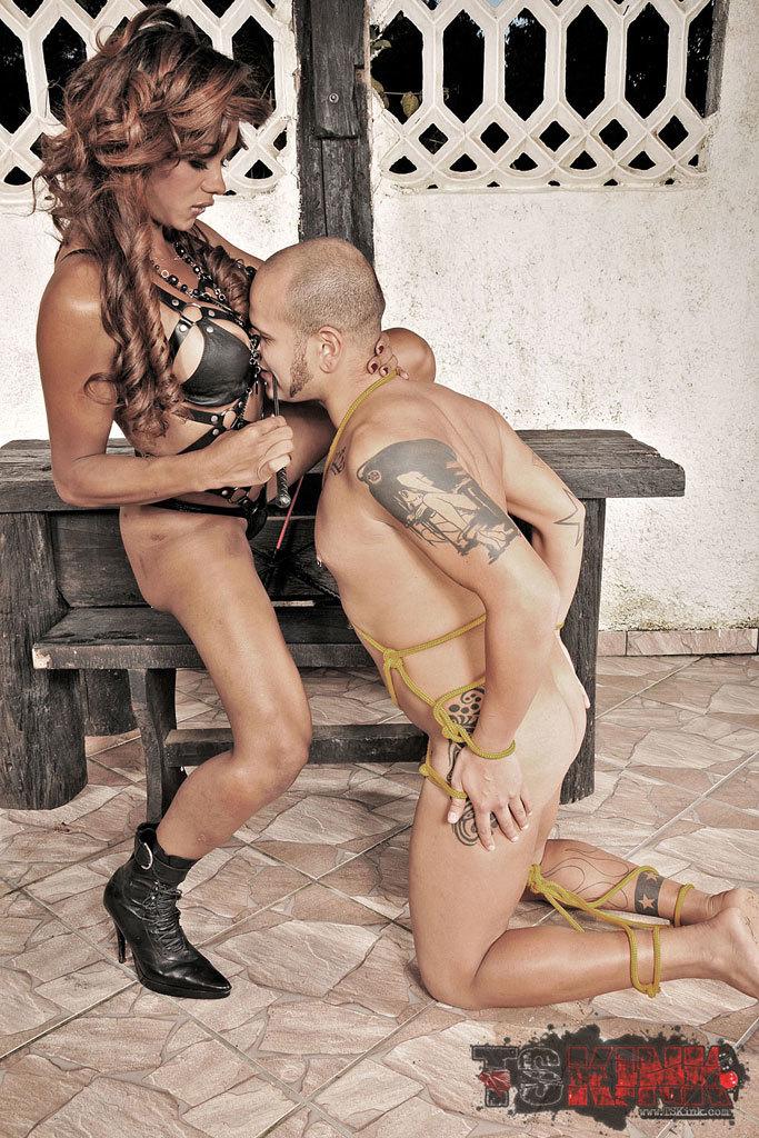 Kinky Transexual Mistress Dominating