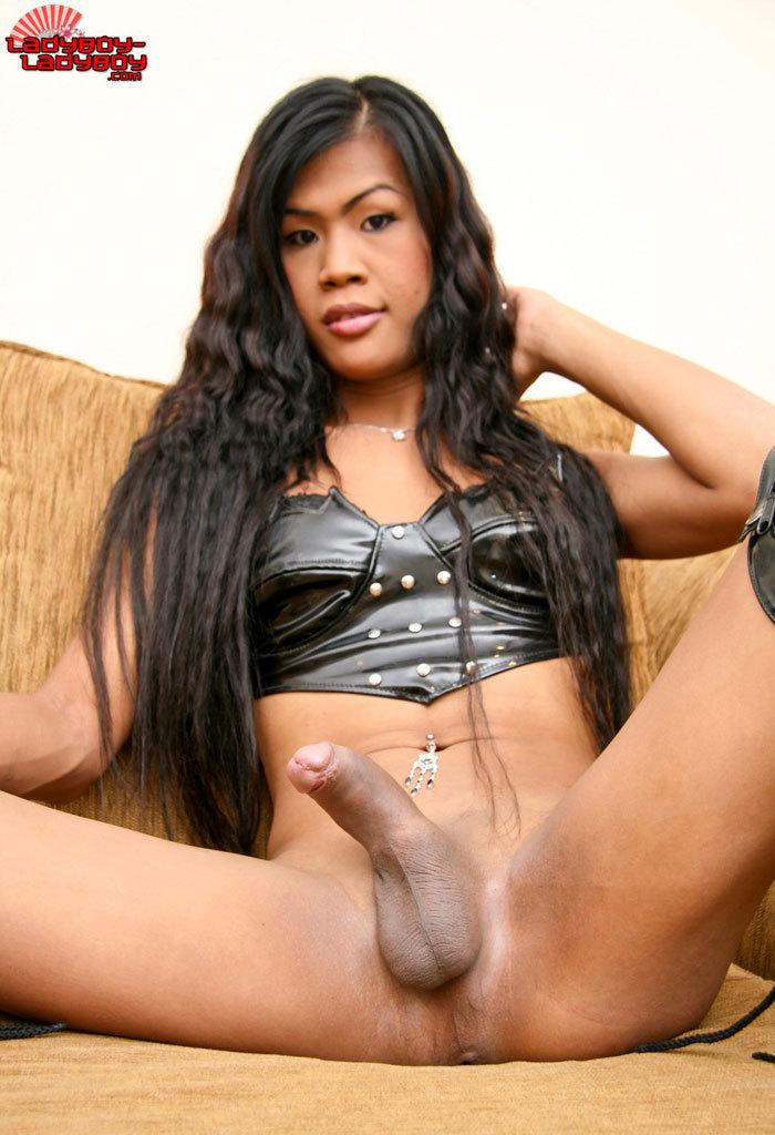 Massive Dicked Tgirl