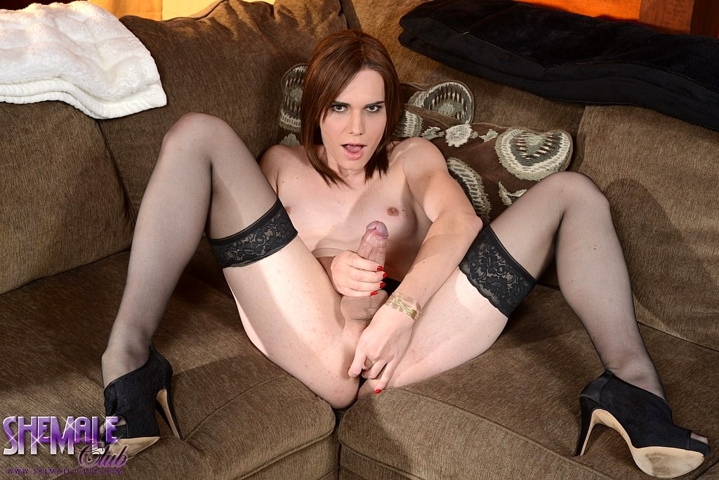 Miranda Stroking Her Thick Tool