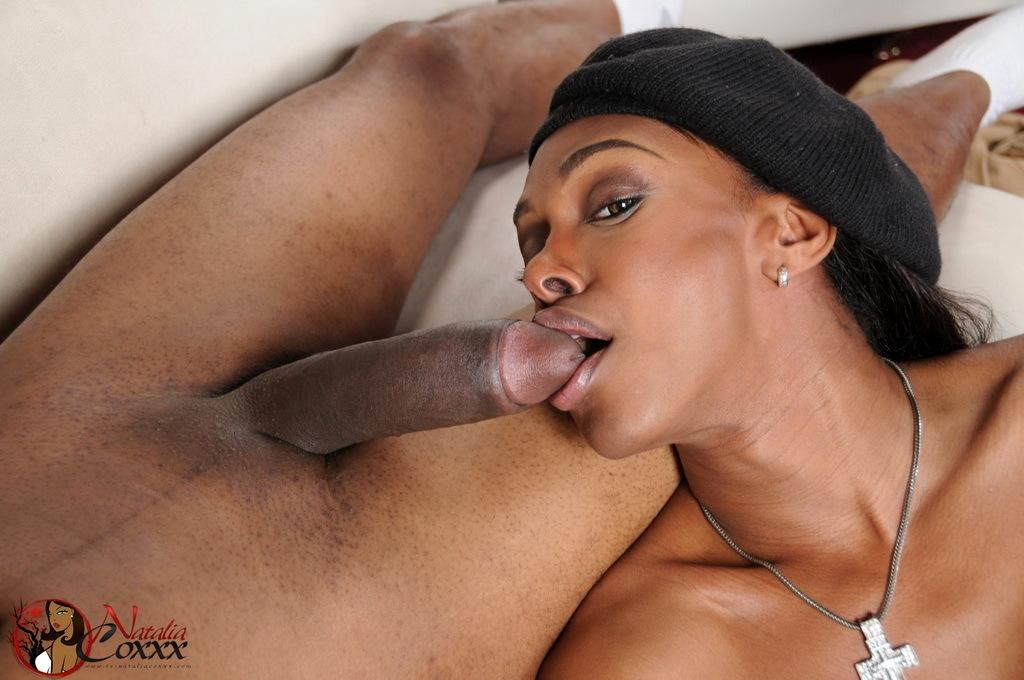 Natalia Jasmine Eating Cock A Massive Dick