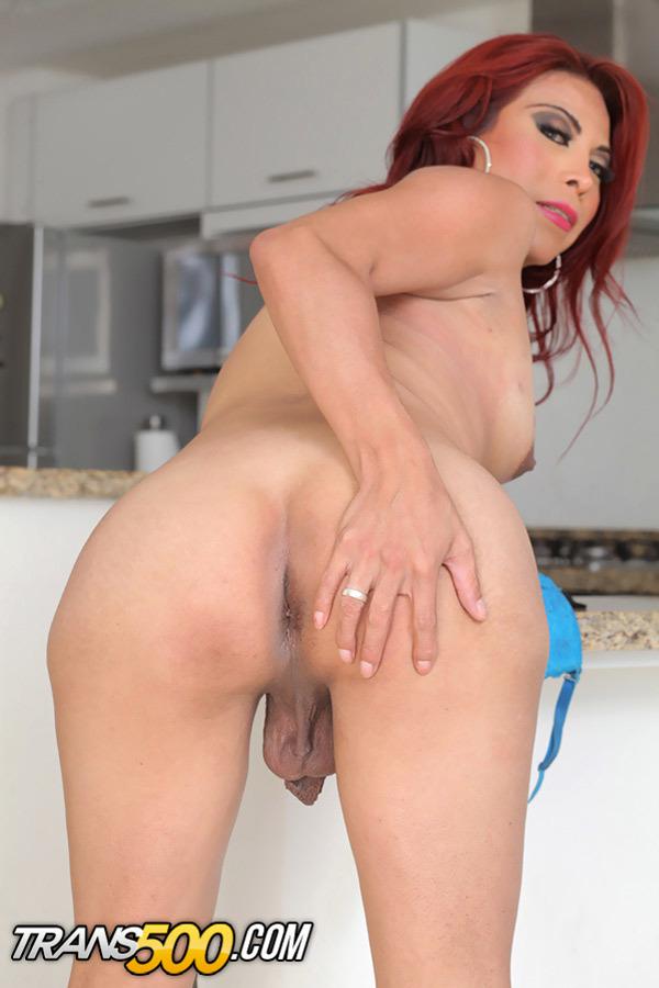 Natalia Rivas Desires Stroking Her Shecock For The Camera!