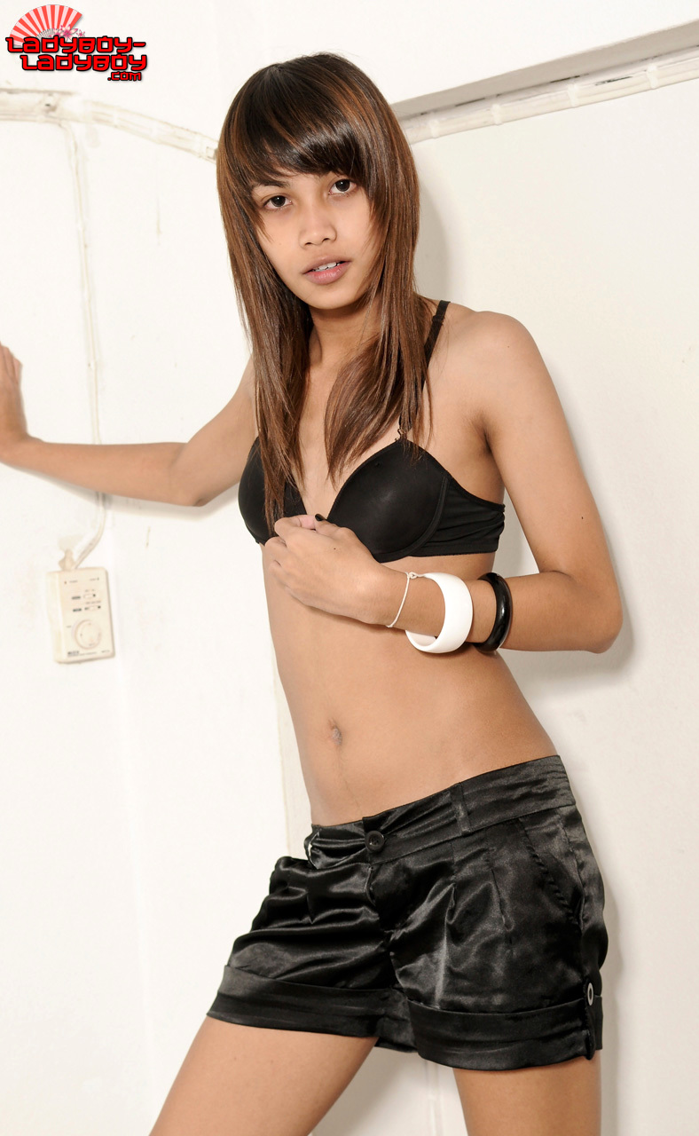 Nay Is A Naughty Teen Transexual From Bangkok With A Tight, Slend