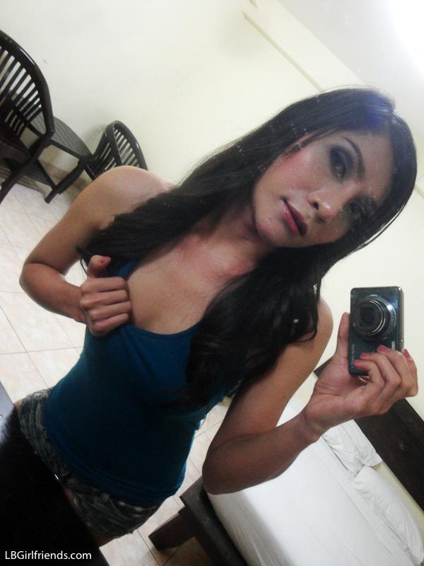 Nice Sammy Shares Her Private Self Shot Femboy Pics