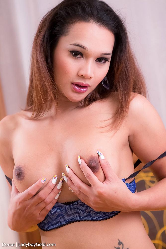Panties Aside Shows Us Pattaya Donuts Wrinkled TGirl Sex Hol