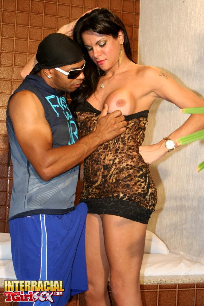 Provoking Gabriela Taking A Massive Black Dick
