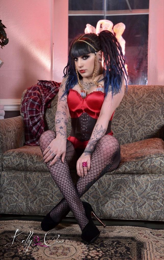 Punk Rock School Girl Kelly Jac