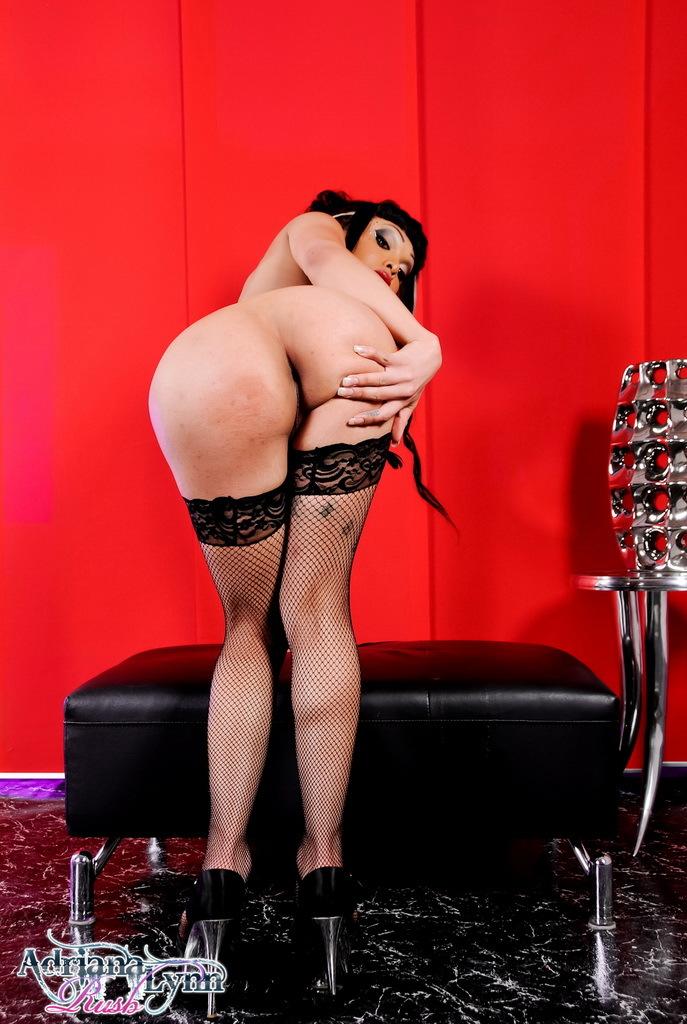 Sensual Adriana Posing As A Slutty Geisha Girl
