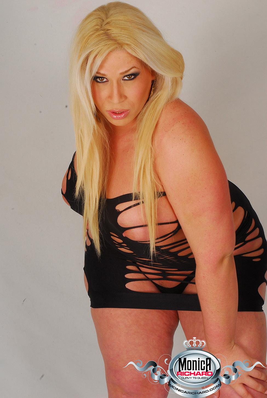 Sexy Chubby Ladyboy Monica Richards Is So Yummy