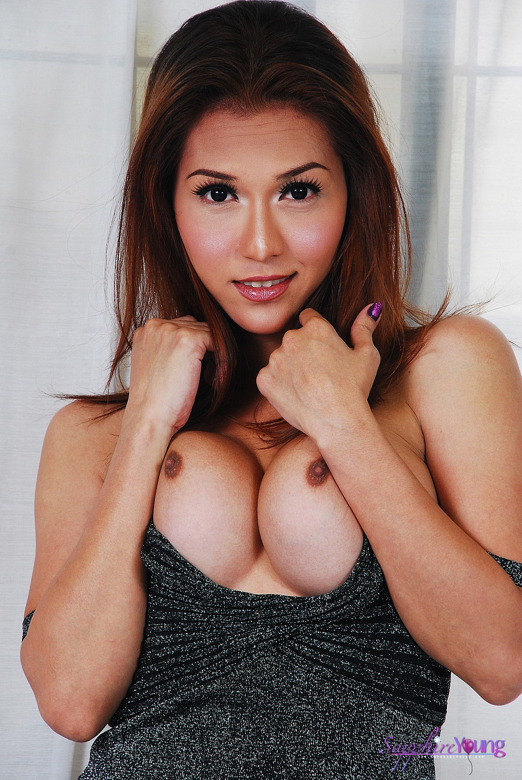 Spicy T-Girl Sapphire Young