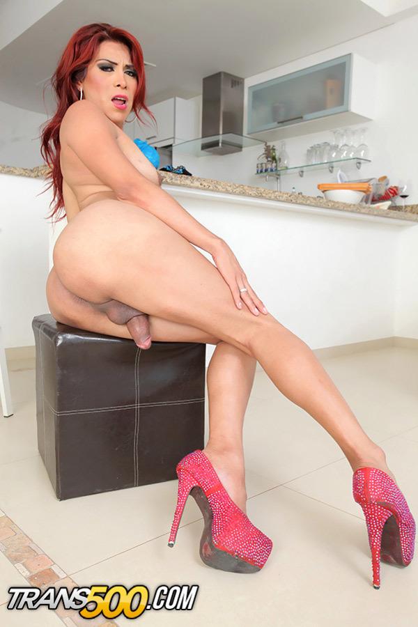 TS Natalia Rivas Desires Having Some Solo Fun!