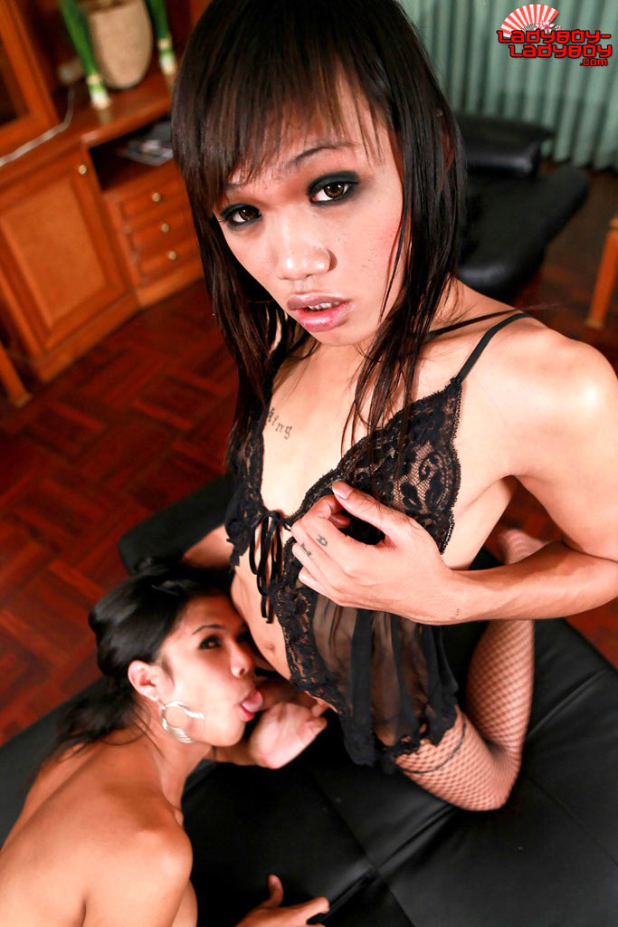 Two Suggestive Femboys Fuck And Suck