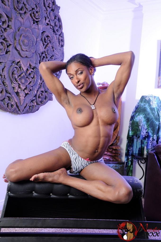 Unbelievable Ebony Goddess Natalia Coxxx Posing