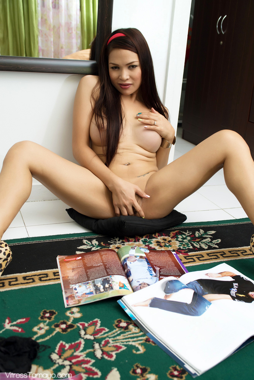 Unbelievable Ts Vitress Tamayo Gets Buck Naked