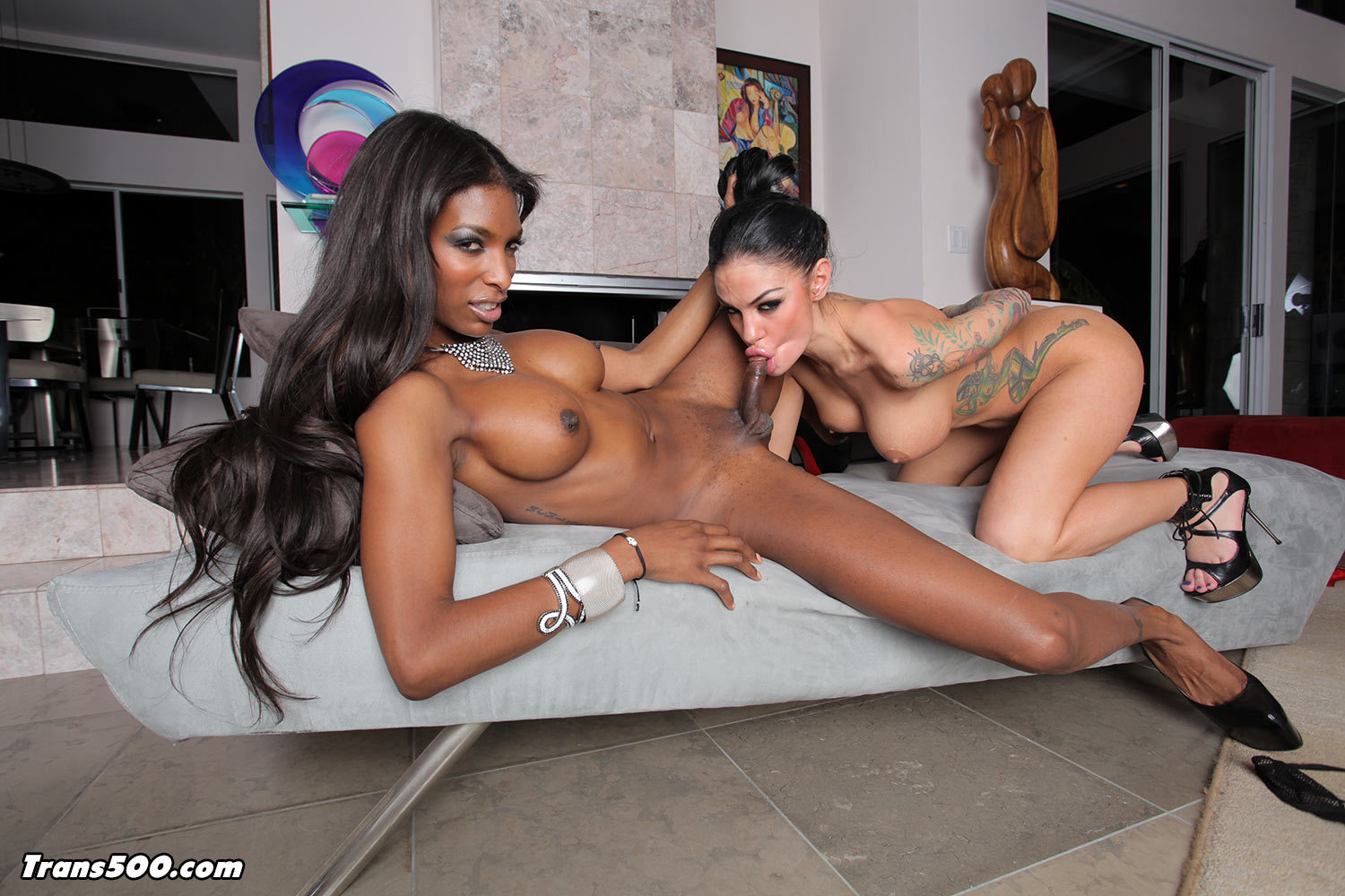 Watch The Arousing Natassia Fantasies Get It On With Angelina Valen