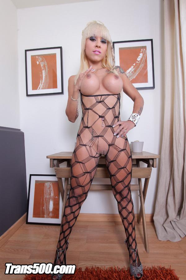 Watch The Filthy TS Bianka Nascimento Fuck Female Melody Star