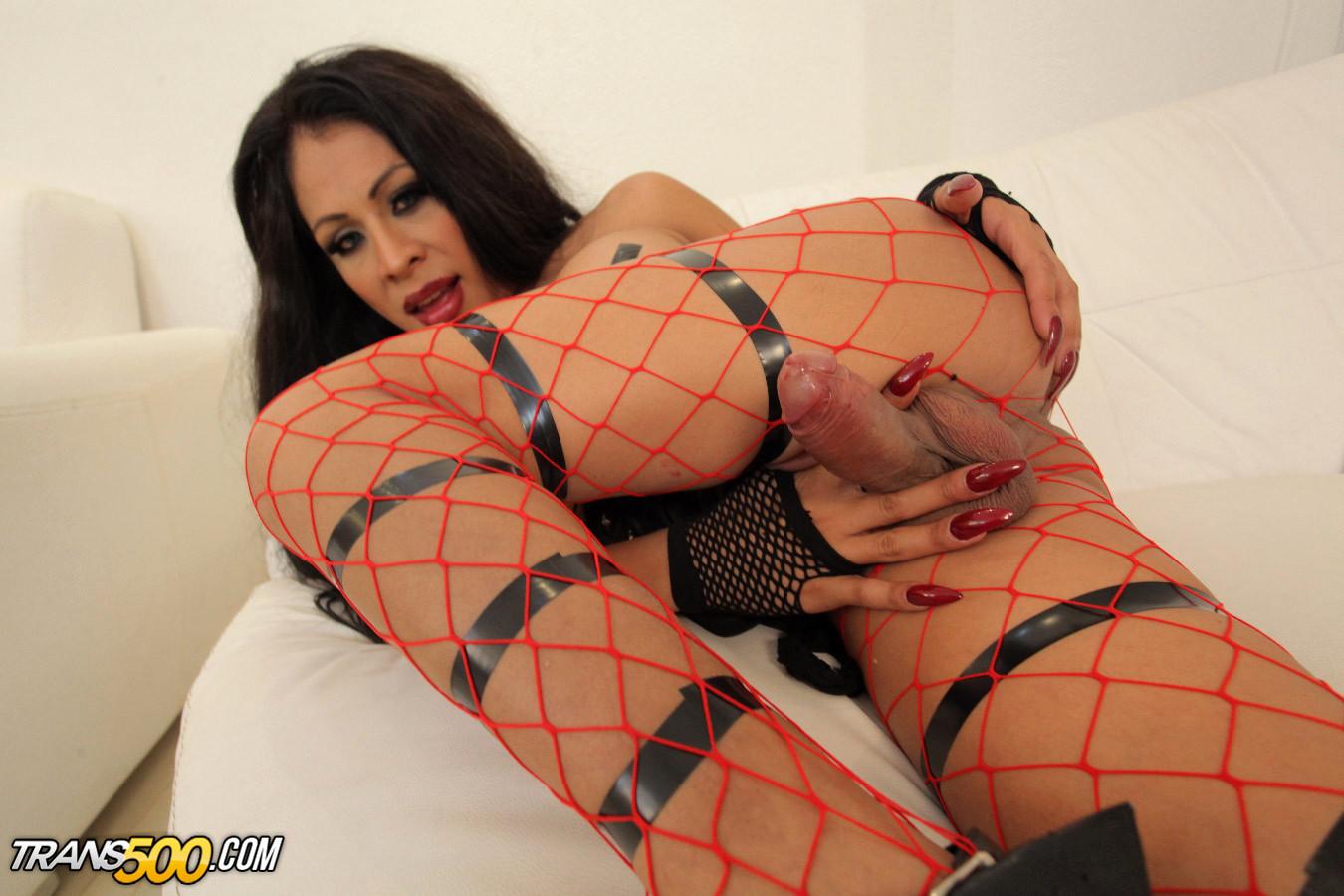Watch Yummy TS Tania Q Dildo Her Thirsty Ass!